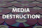 media destruction