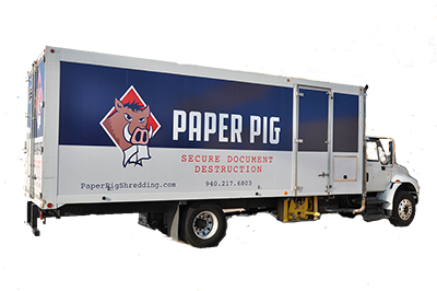 Paper Pig - Paper - Shredding