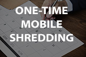 one time mobile shredding