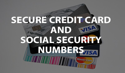 shred credit card information
